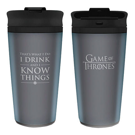 Copo Game of Thrones I Drink And I Know Things
