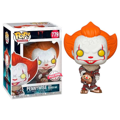 POP! IT Chapter 2 - Pennywise with Beaver Hat
