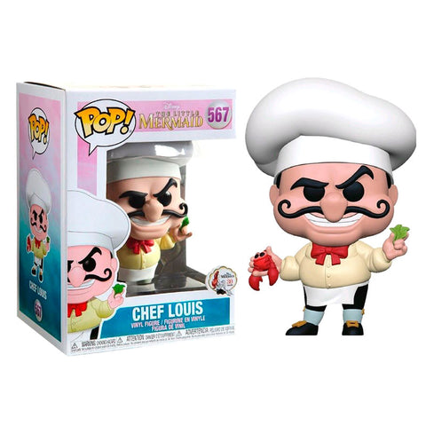 POP! Disney The Little Mermaid - Chef Louis (3665860034656)