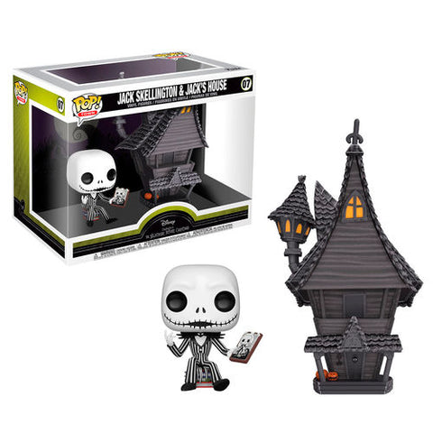 POP! Disney The Nightmare Before Christmas - Jack with Jacks House (4325648040032)