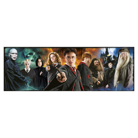 Harry Potter Characters Panorama
