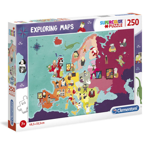 Great People in Europe Exploring Maps puzzle