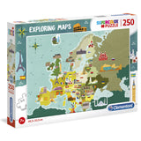 Great Places in Europe Exploring Maps puzzle