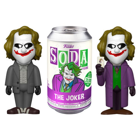 Funko Vinyl Soda- DC Heath Ledger Joker