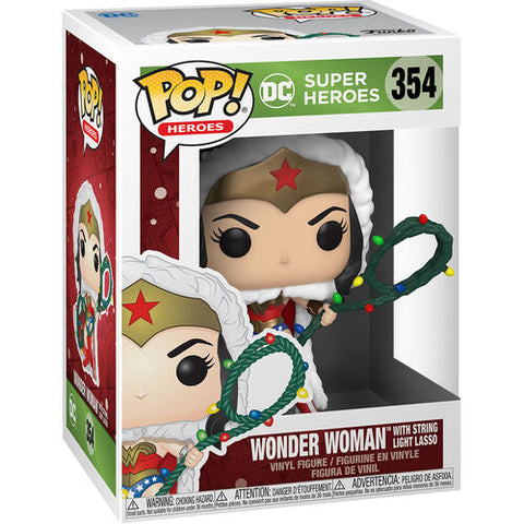 POP!DC Holiday - Wonder Woman with Lights Lasso
