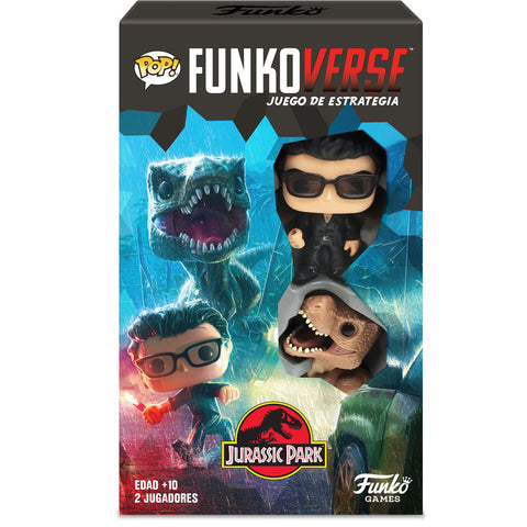 POP Funkoverse board game Jurassic Park