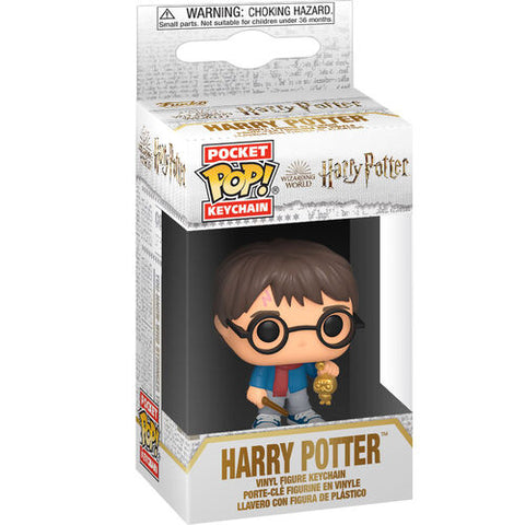 Pocket POP! Keychain Harry Potter Holiday Harry