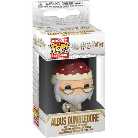 Pocket POP! Keychain Harry Potter Holiday Dumbledore