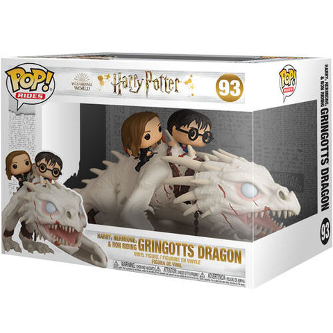 POP! Harry Potter - Gringotts Dragon with Harry, Ron and Hermione