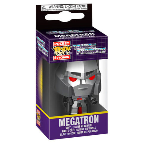 Pocket POP! keychain Transformers Megatron