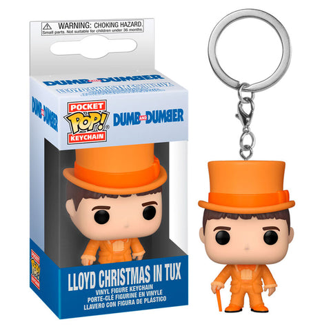 Pocket POP keychain Dumb and Dumber Lloyd In Tux