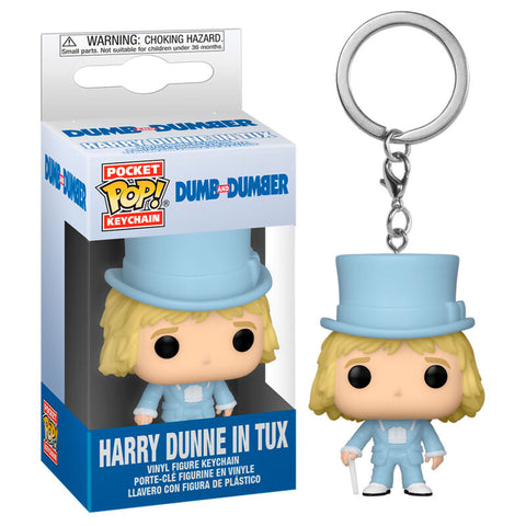 Pocket POP keychain Dumb and Dumber Harry In Tux