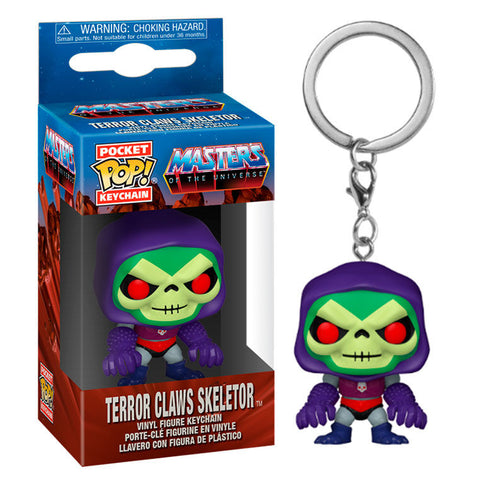 Pocket POP keychain Masters of the Universe Skeletor with Terror Claws