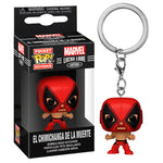 Pocket POP keychain Marvel Luchadores Deadpool La Chimiganga de la Muerte