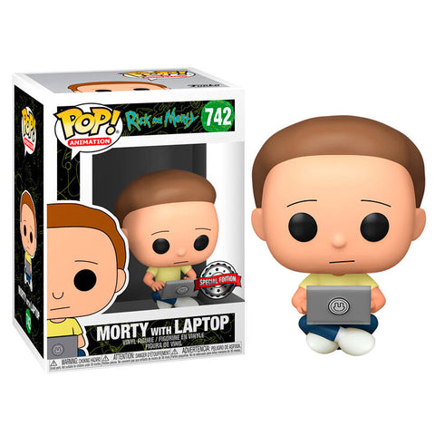 POP! Rick & Morty - Morty with Laptop Exclusive