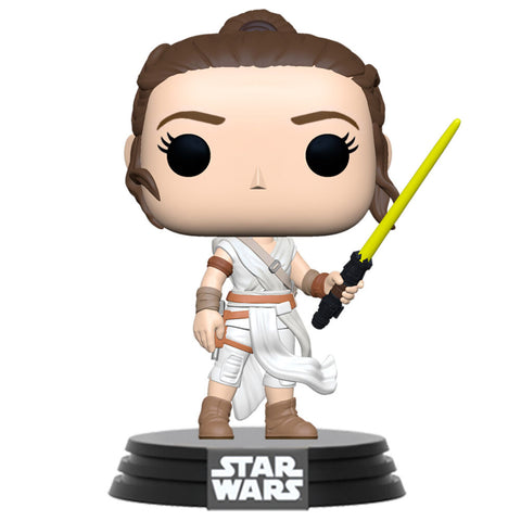 POP! Star Wars The Rise of Skywalker - Rey with Yellow Saber