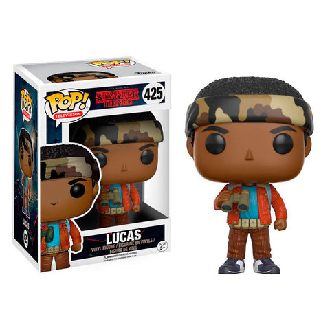 POP! Stranger Things - Lucas with Binoculars (2258375540832)