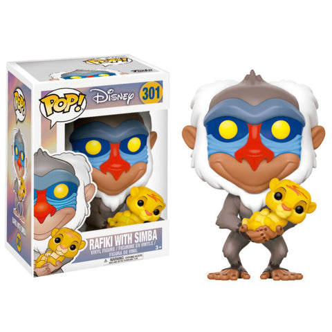 POP! Disney The Lion King - Rafiki with Simba