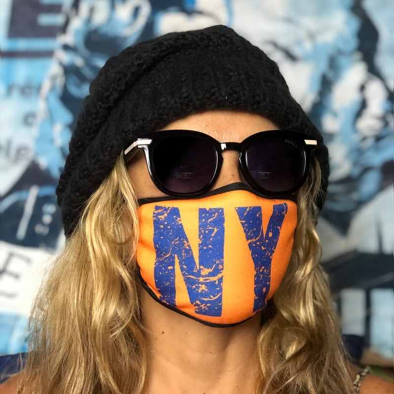 NEW YORK - Set of 12 face masks