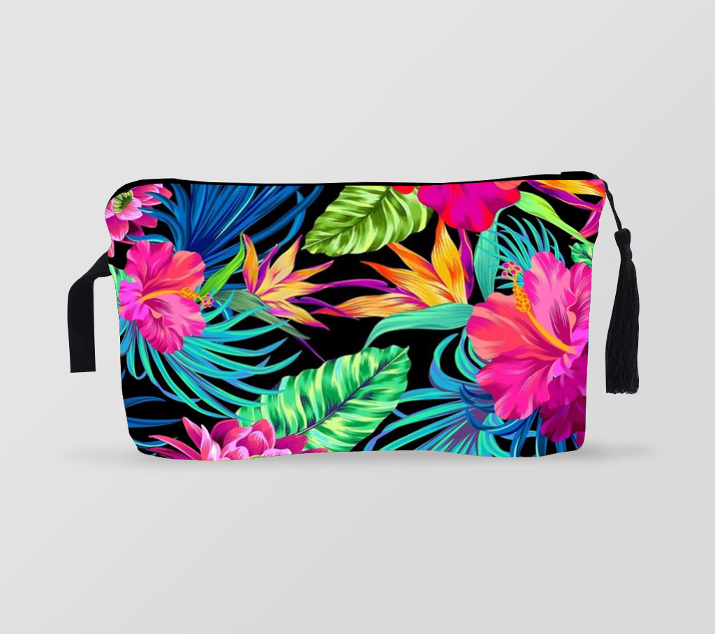 Makeup Bag  | Tropical style