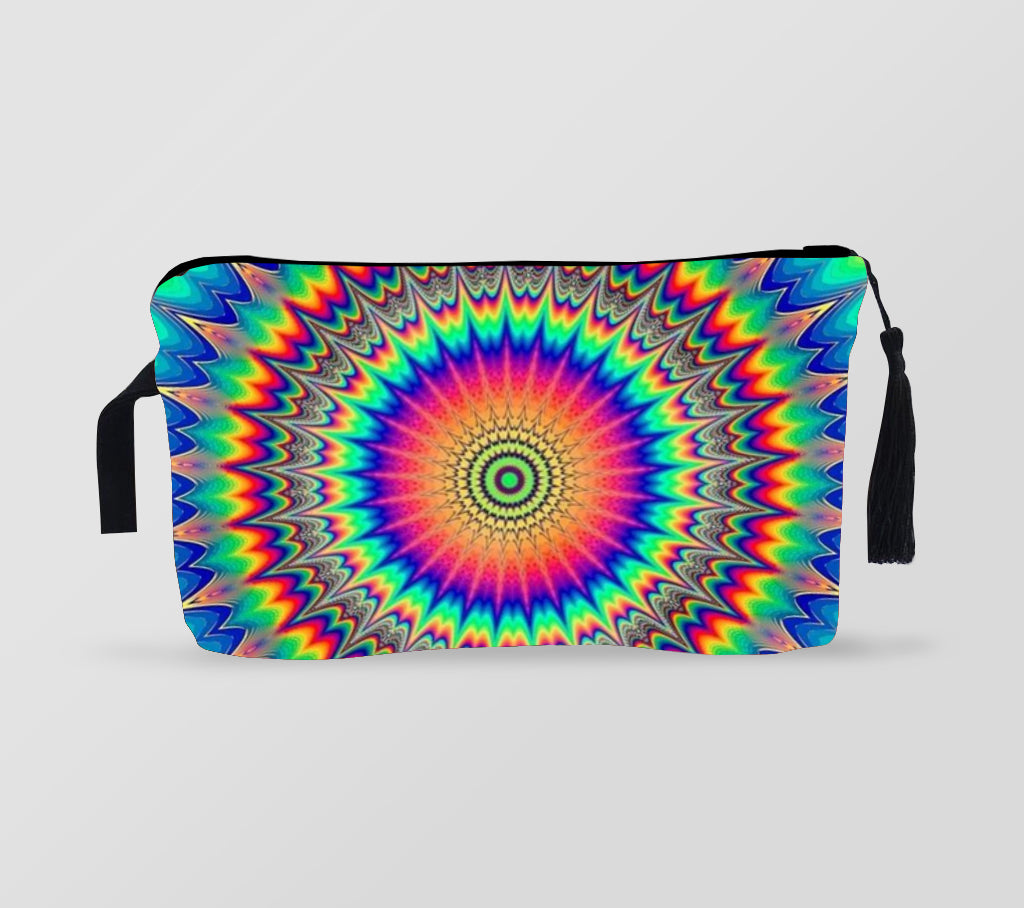 Makeup Bag Colorful Spiral style