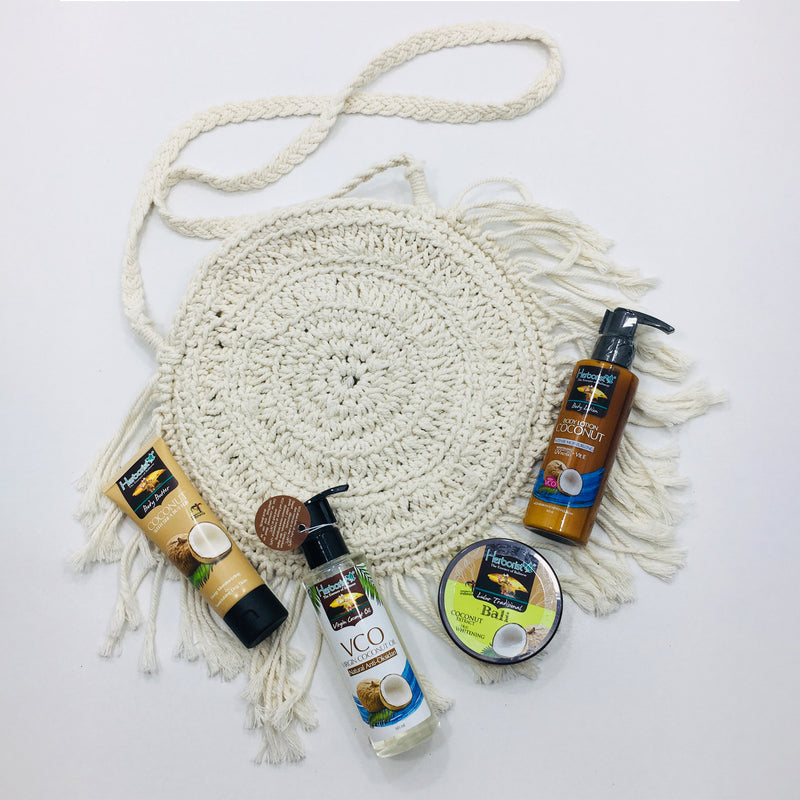 Set of organic Coconut oil extract products | Body Care