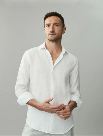 Liko Linen Shirt - White