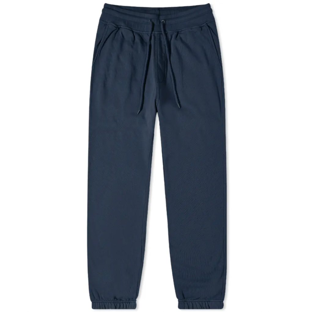 Navy-blue | classic cotton sweat pants