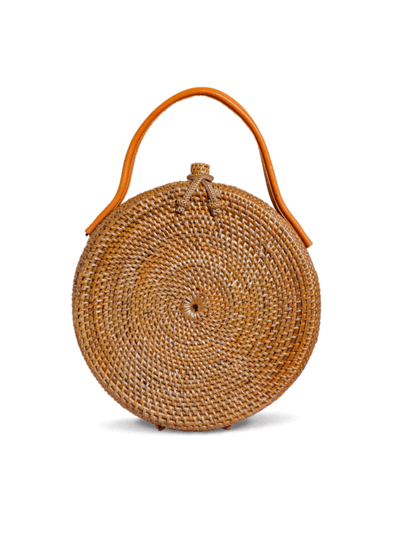 Boho fashion rattan bag  | handmade natural  | Made by Artisans