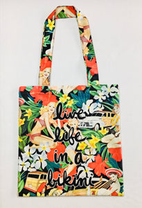 "Bali Bohem "" Live Life Bag "" -Made with Love"