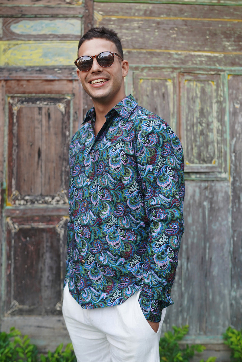 Batik malam | men shirt