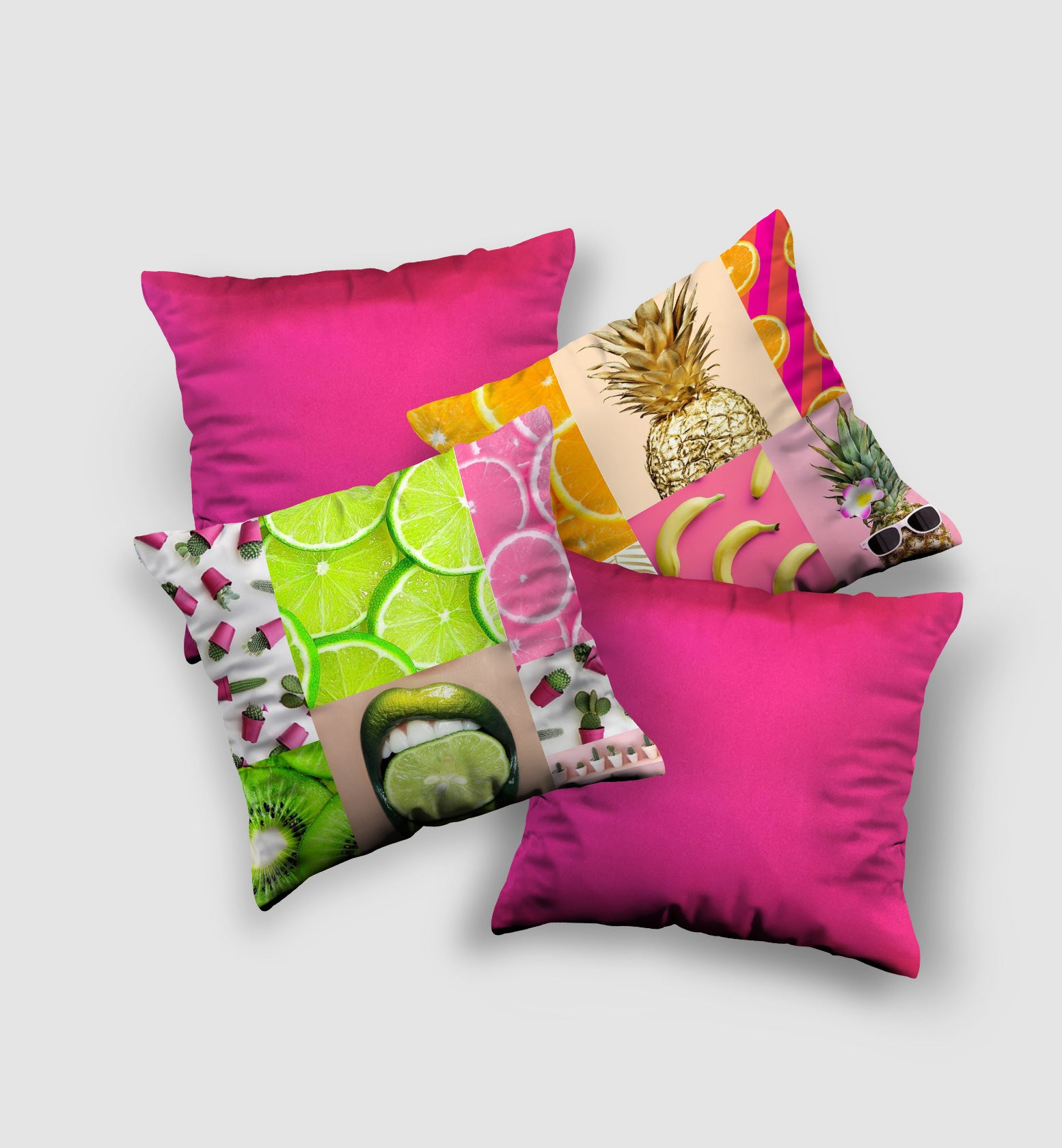 Cover Cushion Funky Style (4 pcs)