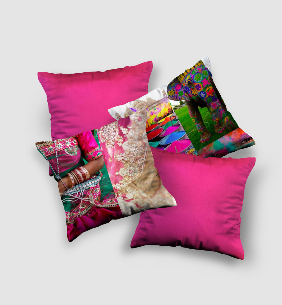 Cover Cushion | Indian Style (4 pcs)