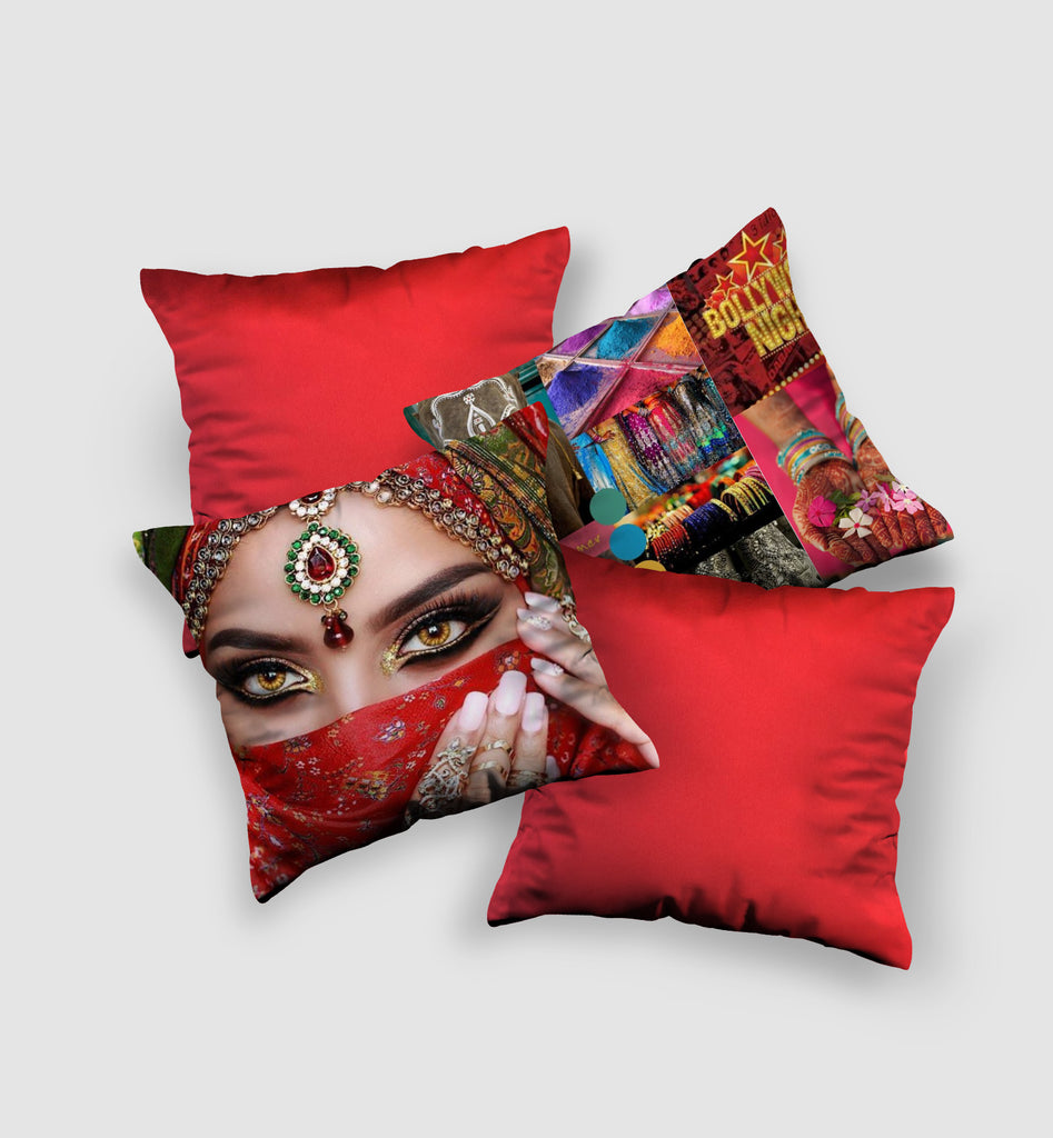 Cover Cushion | Bollywood Night Style (4 pcs)