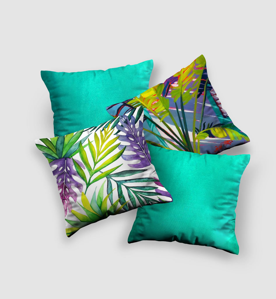 Cover Cushion | Tropical Style (4 pcs)