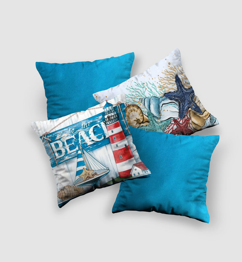 Cover Cushion | Beach Style (4 pcs)