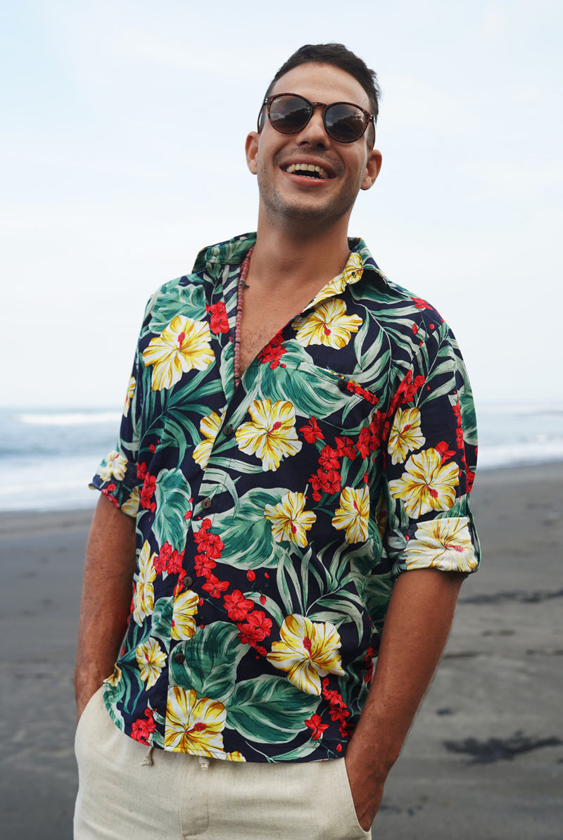 Tropical shirt | men shirt