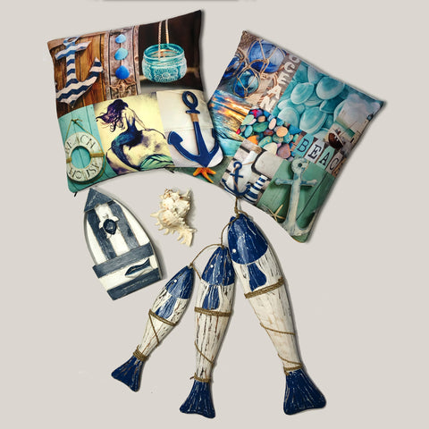 Blue Marine Set-Free Shipping