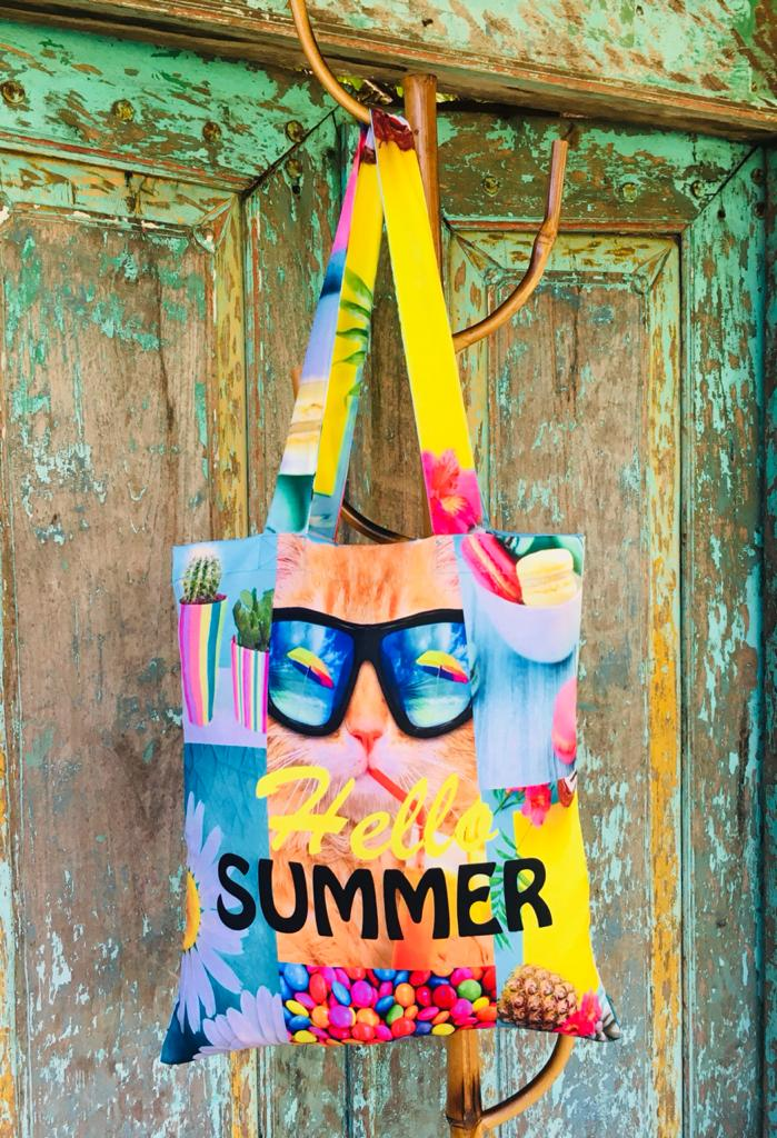 Summer vibes | tote bag