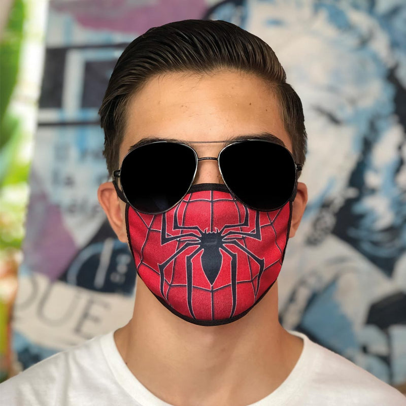 Spiderman Face Cover Style
