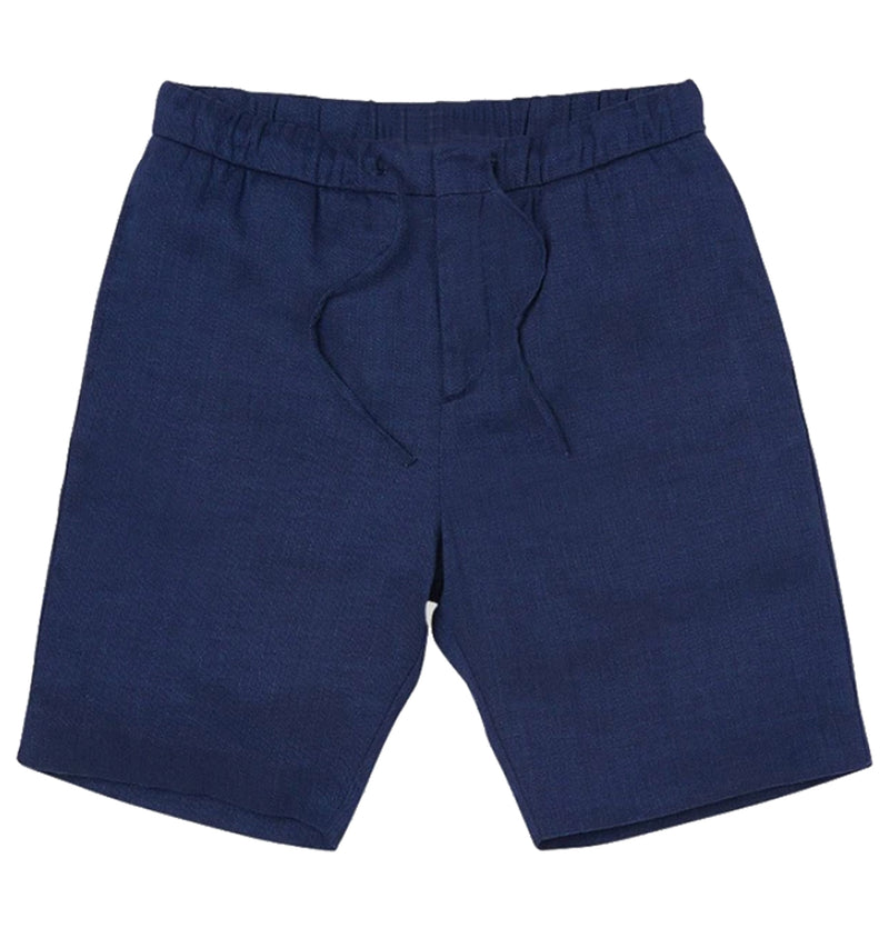 Navy blue |  keanu linen short