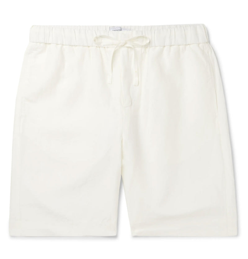 White |  keanu linen short