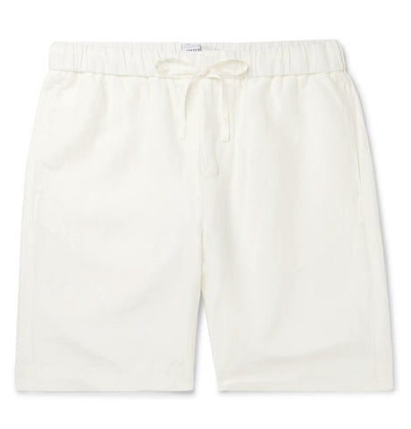 Keanu Linen Short - White