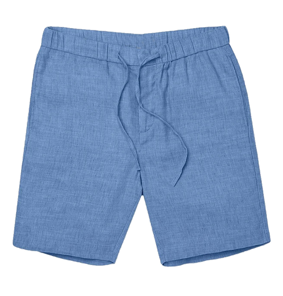 Smoky blue |  keanu linen short