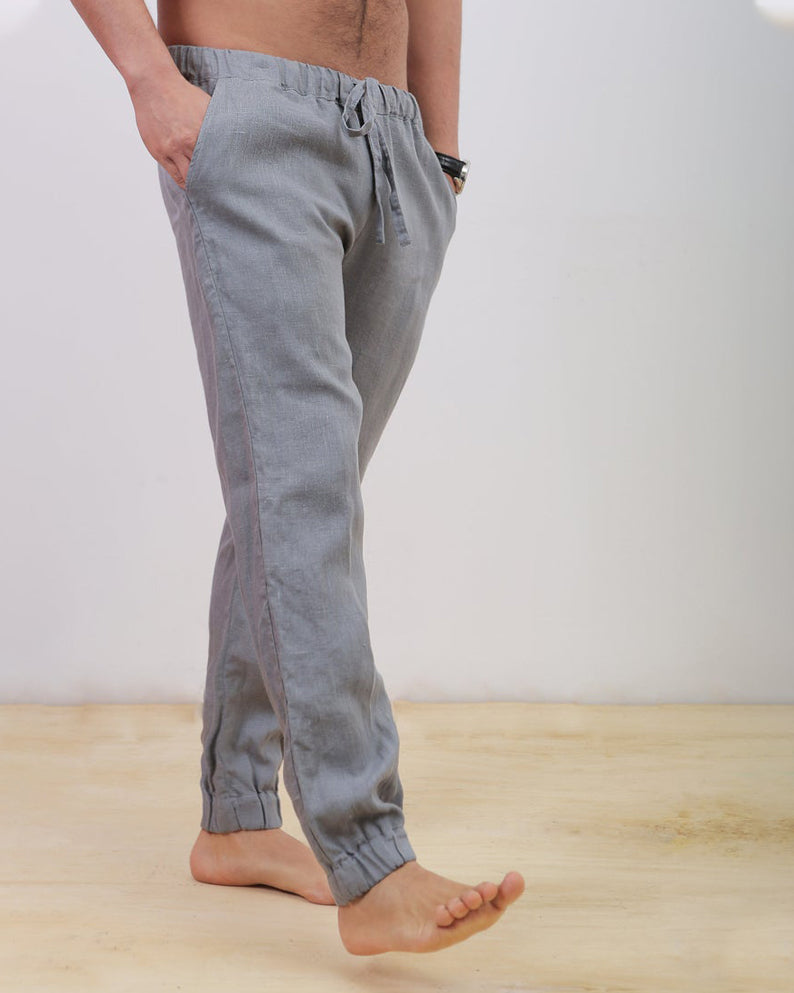 Keoni | grey linen pants