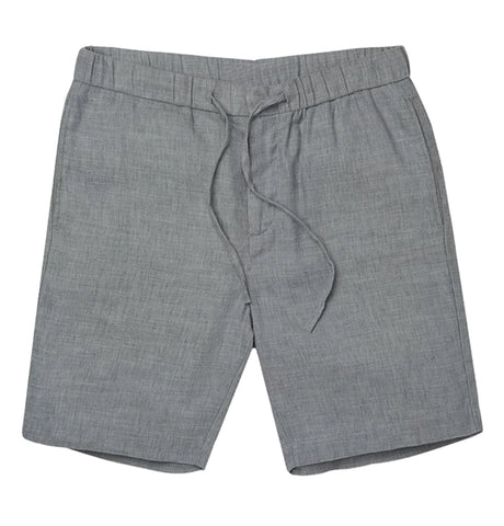 Keanu Linen Short - Grey