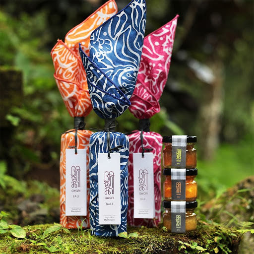 Bali Aurora | Tropical Fruit Preserves Gift Collection Set