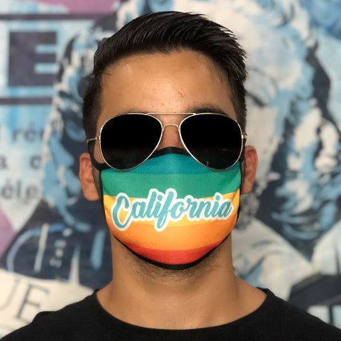 CALIFORNIA EDTION - Set of 12 face masks