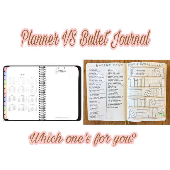 The difference between a bullet journal and a planner, plus which one is best for you