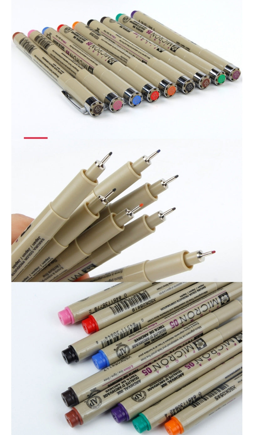 Sakura Pigma Micron Color Set - Colorful Drawing Marker - Otrio Stationery